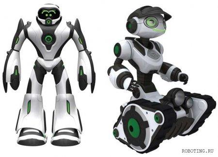 Развлекательные роботы Joebot и Roborover