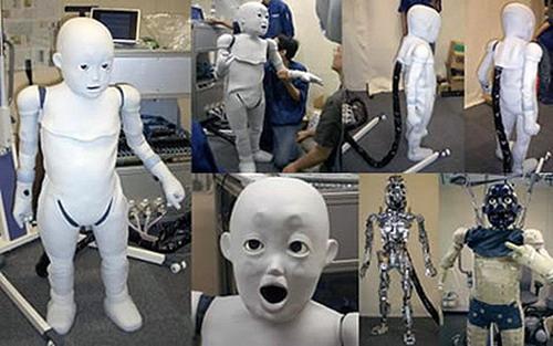 ребёнок робот фото