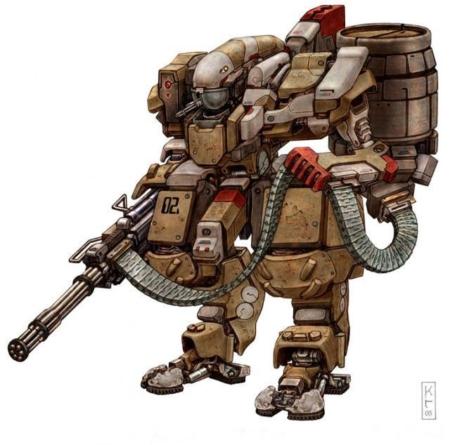 Являются ли военные роботы предметом