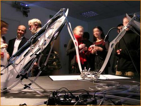 Робот MEART – «полуживой» художник