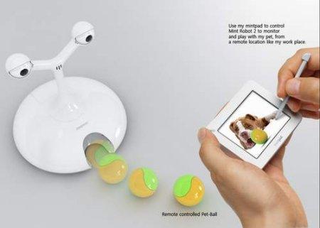 Робот для игры с собакой
