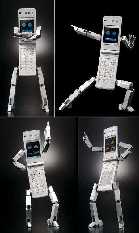 Робот телефон