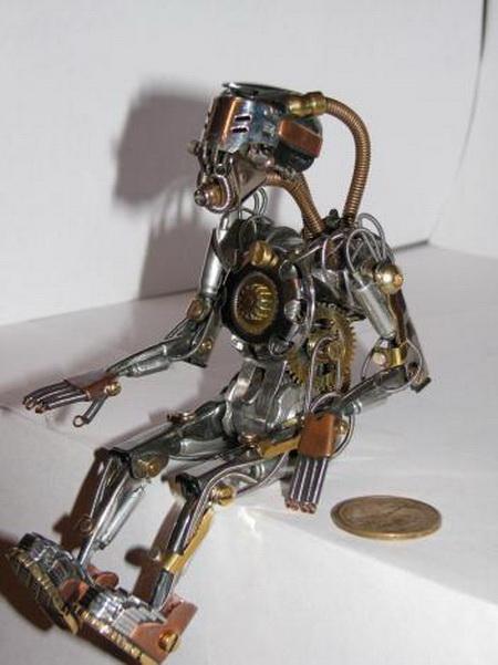 Большие роботы своими руками 39