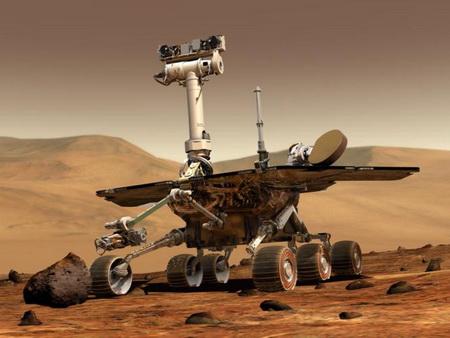 На Марсе застрял робот Spirit