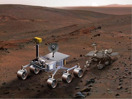 Америка решила доверить освоение других планет роботам