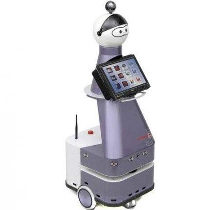 Робот Kompai для помощи престарелым