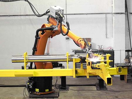В 2010 году на заводах США роботов  стало на 40% больше
