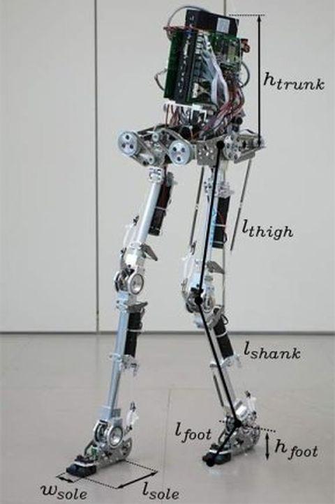 Как сделать ноги робота