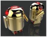 Робот BERO вдохновлен талисманом Android