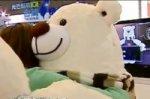 Робот-медведь проверяет ваш пульс