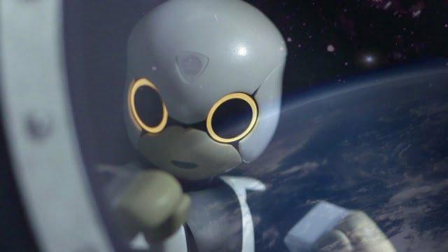 роботы в космосе картинки